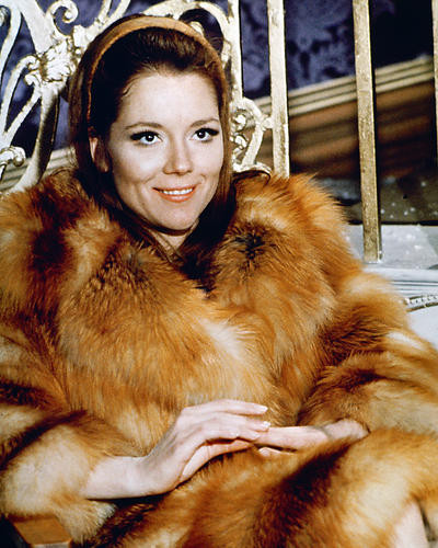 This is an image of 267079 Diana Rigg Photograph & Poster