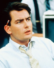 This is an image of 267101 Charlie Sheen Photograph & Poster