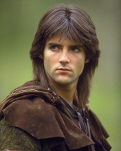 This is an image of 269826 Michael Praed Photograph & Poster