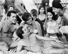 This is an image of 194490 Beach Party Photograph & Poster