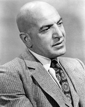 This is an image of 194554 Telly Savalas Photograph & Poster