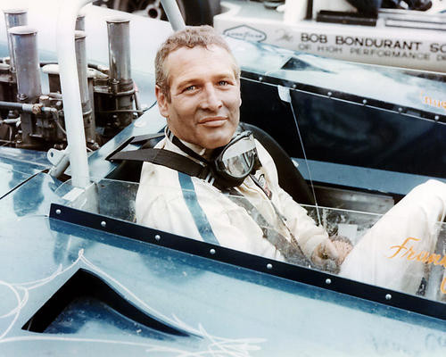This is an image of 283875 Paul Newman Photograph & Poster