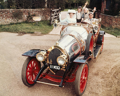 This is an image of 283611 Chitty Chitty Bang Bang Photograph & Poster