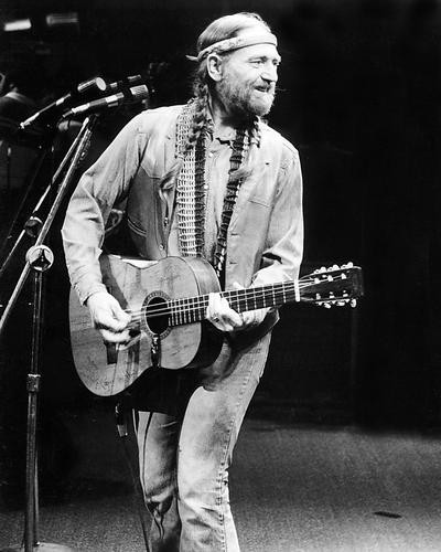 This is an image of 193901 Willie Nelson Photograph & Poster