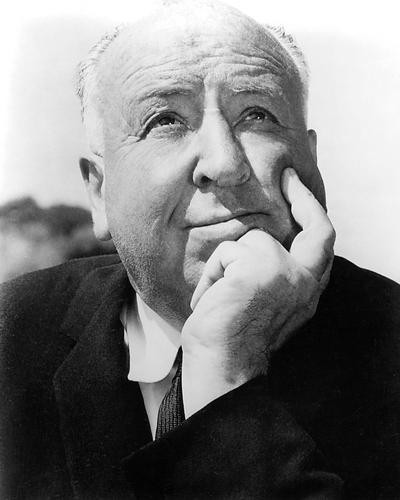 This is an image of 194012 Alfred Hitchcock Photograph & Poster