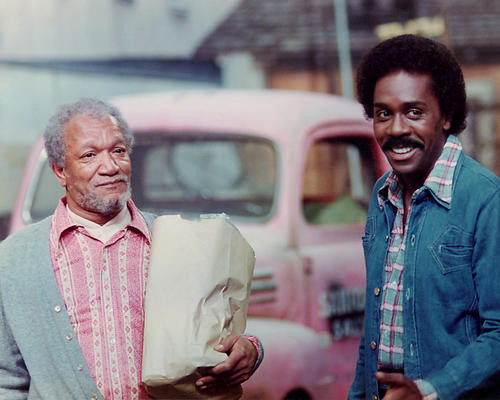 This is an image of 283824 Sanford and Son Photograph & Poster