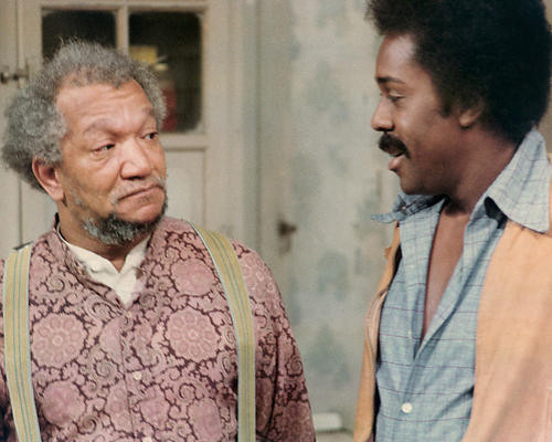 This is an image of 283825 Sanford and Son Photograph & Poster