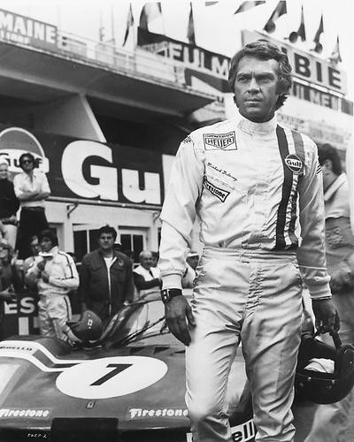 This is an image of 190045 Steve McQueen Photograph & Poster