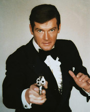 This is an image of 251243 Roger Moore Photograph & Poster