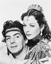 This is an image of 169234 Victor Mature & Hedy Lamaar Photograph & Poster