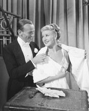 This is an image of 172437 Fred Astaire & Ginger Rogers Photograph & Poster