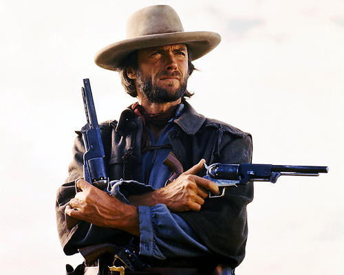 This is an image of Premium Photograph & Poster of Clint Eastwood 294348