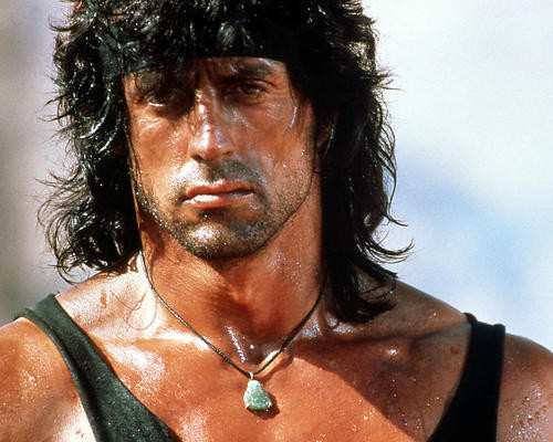 This is an image of Photograph & Poster of Sylvester Stallone 297433