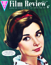 This is an image of Vintage Reproduction of Audrey Hepburn 297309