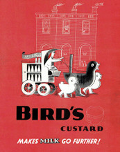 This is an image of Vintage Reproduction of Birds Custard 297311