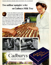 This is an image of Vintage Reproduction of Cadbury's Milk Tray 297317