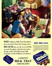 This is an image of Vintage Reproduction of Cadbury's Milk Tray 297346