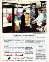 This is an image of Vintage Reproduction of Brooke Bond 297351