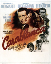 This is an image of Vintage Reproduction of Casablanca 295303