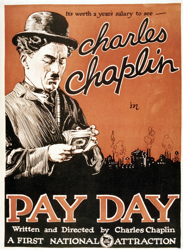 This is an image of Vintage Reproduction of Pay Day 295313