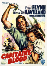 This is an image of Vintage Reproduction of Captain Blood 295856