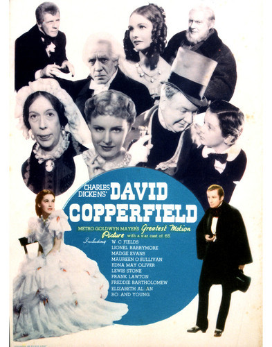 This is an image of Vintage Reproduction of David Copperfield (1935) 296405