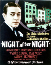 This is an image of Vintage Reproduction of Night After Night 296956