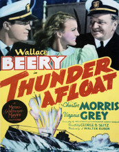 This is an image of Vintage Reproduction of Thunder Afloat 296979