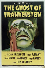 This is an image of Vintage Reproduction of The Ghost of Frankenstein 294996