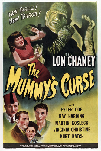 This is an image of Vintage Reproduction of The Mummys Curs' 294998