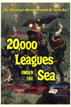 This is an image of Vintage Reproduction of 20000 Leagues Under the Sea 295110