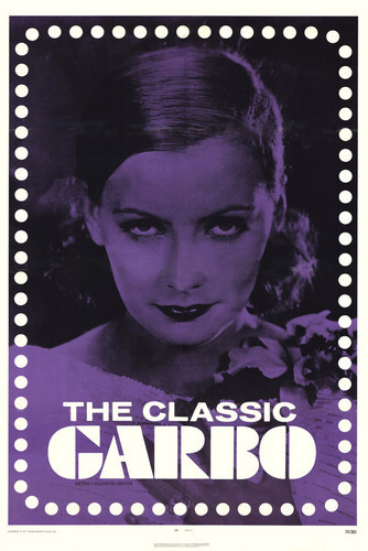 This is an image of Vintage Reproduction of Greta Garbo 295178