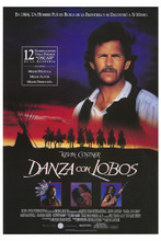 This is an image of Vintage Reproduction of Dances with Wolves 295187