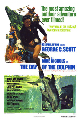 This is an image of Vintage Reproduction of Day of the Dolphin 295197