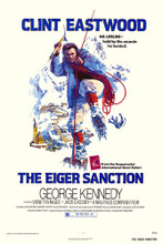 This is an image of Vintage Reproduction of The Eiger Sanction 295339