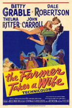This is an image of Vintage Reproduction of The Farmer Takes a Wife 295349