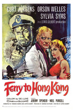 This is an image of Vintage Reproduction of Ferry to Hong Kong 295351