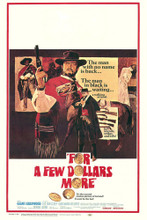 This is an image of Vintage Reproduction of For a Few Dollars More 295359