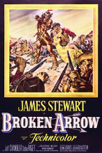 This is an image of Vintage Reproduction of Broken Arrow (1950) 296894