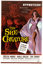 This is an image of Vintage Reproduction of The She Creature 295172