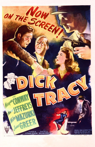 This is an image of Vintage Reproduction of Dick Tracy 1945 295204