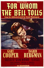 This is an image of Vintage Reproduction of For Whom the Bell Tolls 295279