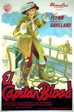This is an image of Vintage Reproduction of Captain Blood 295849