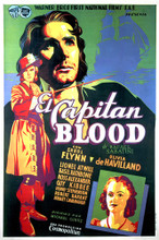 This is an image of Vintage Reproduction of Captain Blood 295850