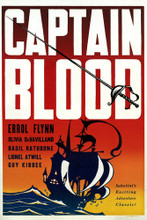 This is an image of Vintage Reproduction of Captain Blood 295853