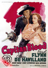 This is an image of Vintage Reproduction of Captain Blood 295854