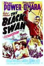 This is an image of Vintage Reproduction of The Black Swan 296495