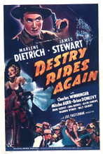 This is an image of Vintage Reproduction of Destry Rides Again 296510