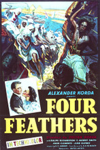 This is an image of Vintage Reproduction of The Four Feathers (1939) 297035