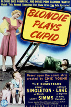 This is an image of Vintage Reproduction of Blondie Plays Cupid 297077